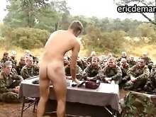 Nude gay muscle soldiers